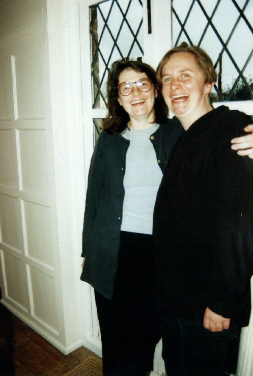 Nicola and Charlotte during their time together at ITC