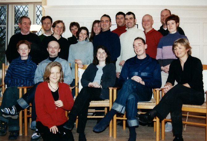 Nicola with the ITC Board in 2000