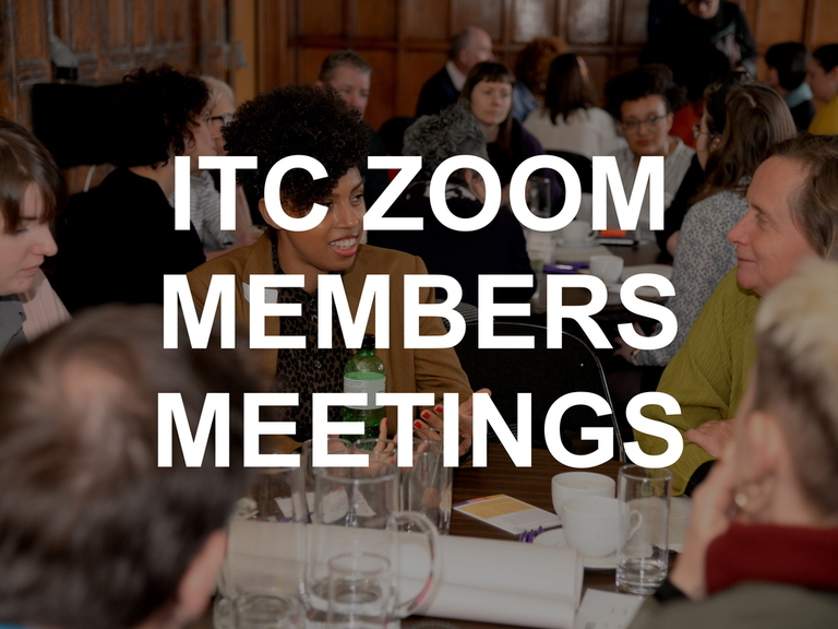Over the summer we are running free ITC members meetings & panel discussions on range of topics. Book now!